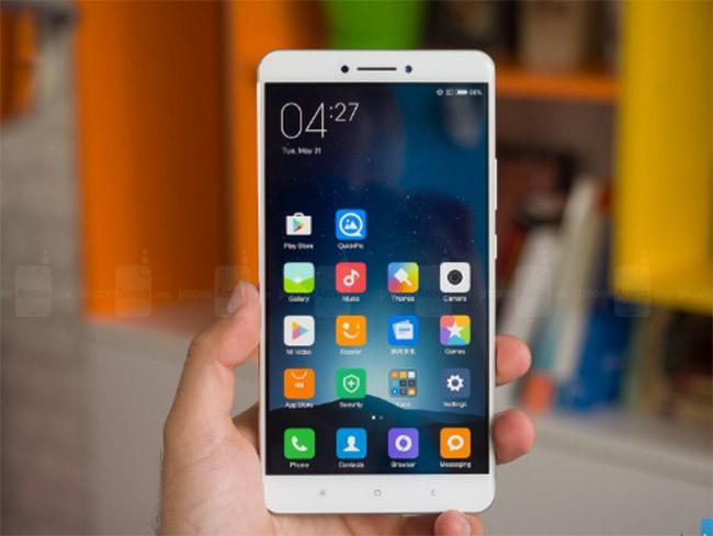 Xiaomi Mi Max được cập nhật Android 7.0 ảnh 1