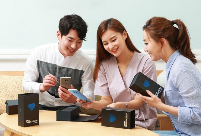 Note 7 trở lại thị trường với giao diện S8 và trợ lý Bixby ảnh 1