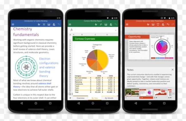 Microsoft cập nhật Office cho Android với nhiều tính năng mới ảnh 1