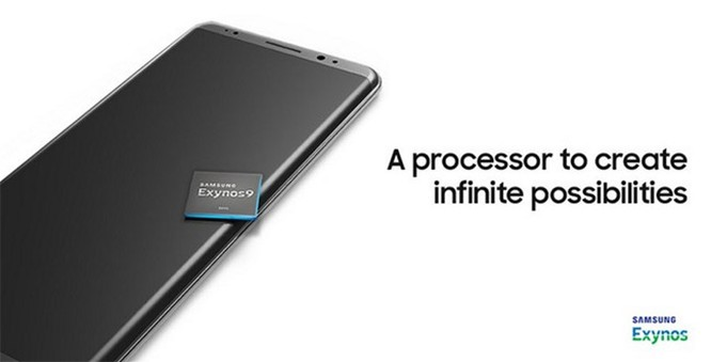 Note 8 lộ diện trong hình ảnh quảng cáo chip Exynos 9 ảnh 1