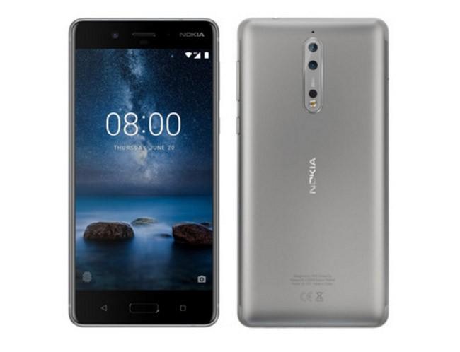 Nokia 8 màu bạc nhìn như thế nào? ảnh 1