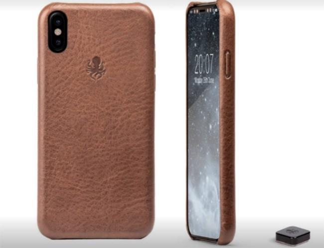 Hãng sản xuất bao da hé lộ hình ảnh iPhone 8 với viền dày 4 mm ảnh 6