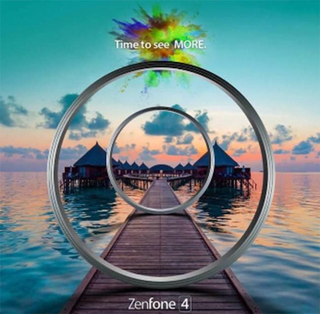 Asus tung ảnh quảng cáo, sẵn sàng ra mắt dòng ZenFone 4 ảnh 1