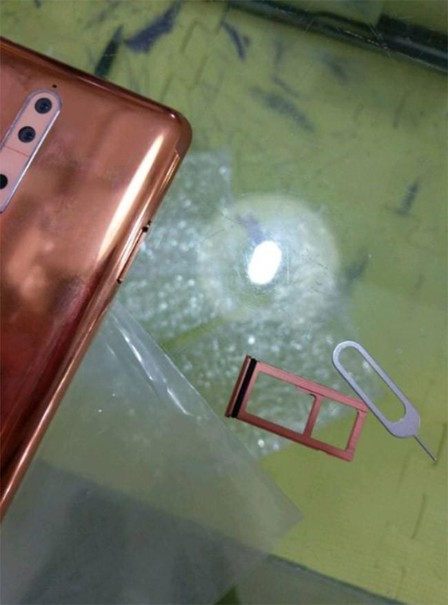 """Nokia 8 lộ ảnh trước """"giờ G"""" ảnh 3"""
