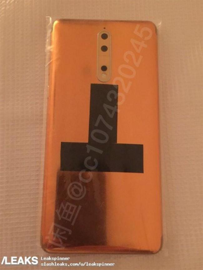 """Nokia 8 lộ ảnh trước """"giờ G"""" ảnh 5"""