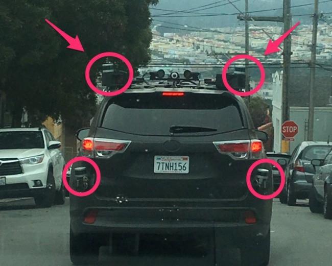 Toyota bí mật thử nghiệm xe tự lái? ảnh 3