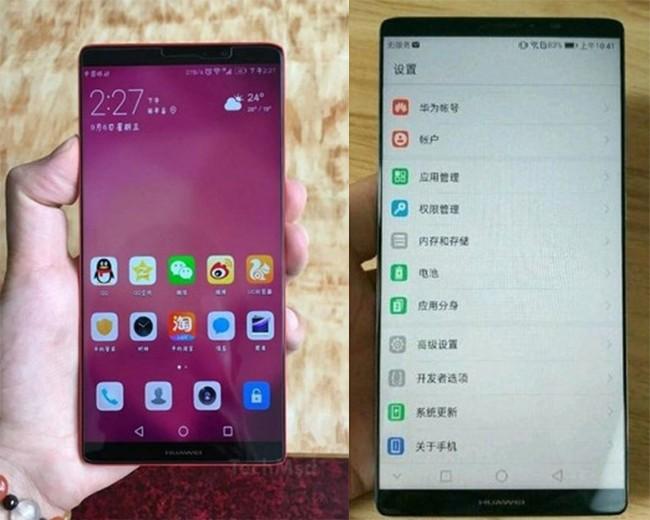 Huawei Mate 10 lộ ảnh: đẹp chẳng kém gì Galaxy Note 8 ảnh 1