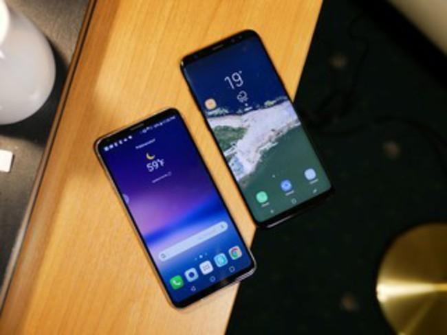 Đại chiến thiết kế Galaxy S8+ và LG V30: Bạn chọn siêu phẩm nào? ảnh 1
