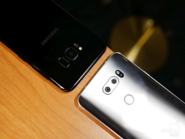 Đại chiến thiết kế Galaxy S8+ và LG V30: Bạn chọn siêu phẩm nào? ảnh 6