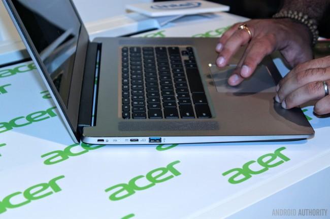 """Trên tay Acer Chromebook 15: """"pin trâu"""", vỏ nhôm nguyên khối độc đáo ảnh 1"""