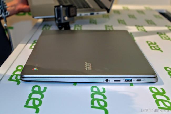 """Trên tay Acer Chromebook 15: """"pin trâu"""", vỏ nhôm nguyên khối độc đáo ảnh 4"""