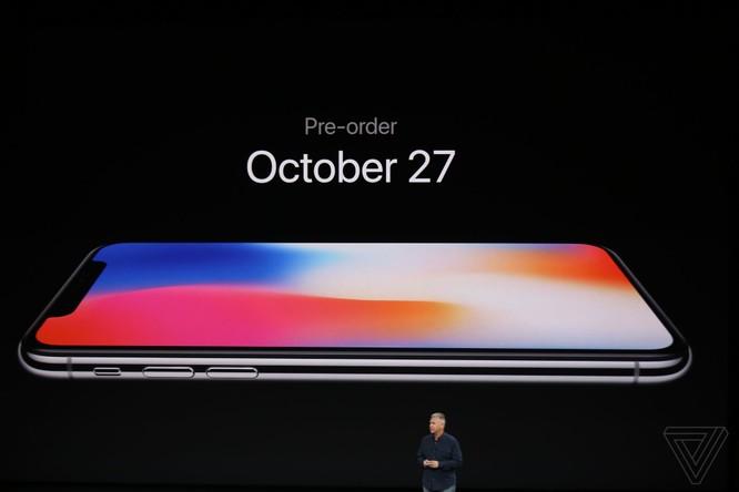 iPhone X giá từ 999 USD, lên kệ vào 3/11 ảnh 3