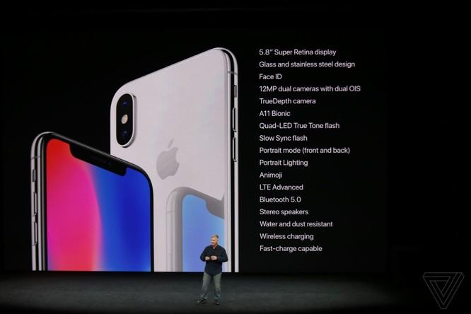 iPhone X giá từ 999 USD, lên kệ vào 3/11 ảnh 8
