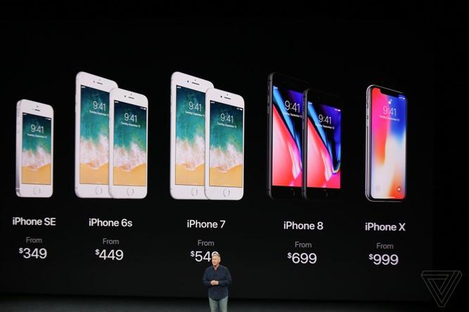iPhone X giá từ 999 USD, lên kệ vào 3/11 ảnh 6