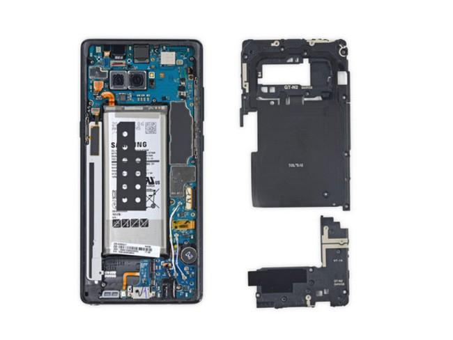 """""""Giải phẫu"""" Galaxy Note 8: không dễ sửa đối với thợ """"tay mơ"""" ảnh 3"""