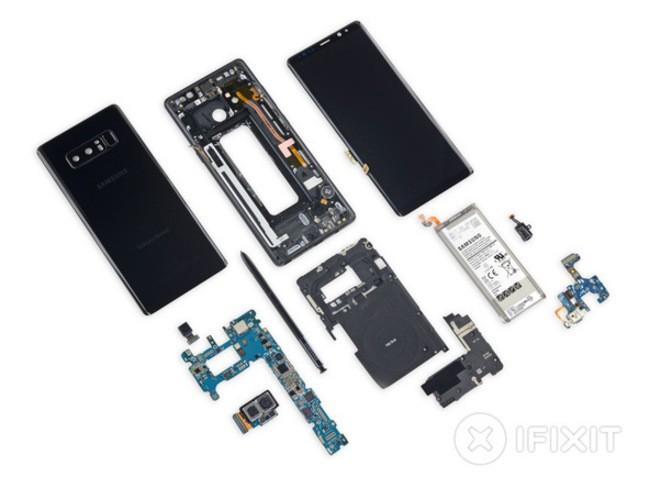 """""""Giải phẫu"""" Galaxy Note 8: không dễ sửa đối với thợ """"tay mơ"""" ảnh 6"""