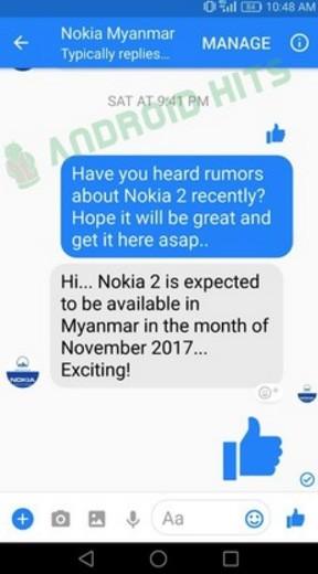 """Nokia 2 sẽ """"đánh chiếm"""" một số thị trường vào tháng 11 ảnh 1"""