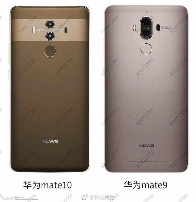 So sánh kích thước Mate 10 Pro và Mate 9 ảnh 1