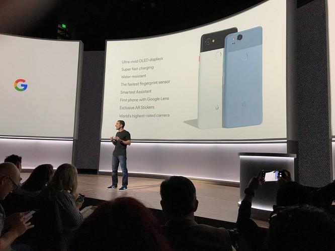 Google Pixel 2 và Pixel 2 XL đã ra mắt: công nghệ camera AR giống iPhone X, giá khởi điểm 649 USD và 849 USD ảnh 10