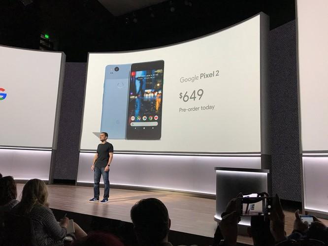 Google Pixel 2 và Pixel 2 XL đã ra mắt: công nghệ camera AR giống iPhone X, giá khởi điểm 649 USD và 849 USD ảnh 9