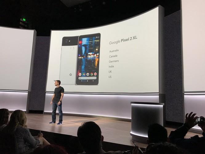 Google Pixel 2 và Pixel 2 XL đã ra mắt: công nghệ camera AR giống iPhone X, giá khởi điểm 649 USD và 849 USD ảnh 8