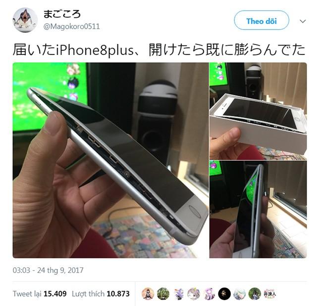 Thêm một trường hợp pin iPhone 8 Plus bị phồng rộp ảnh 1