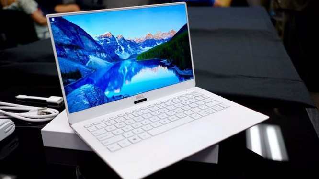 Dell hé lộ ultrabook XPS 13 mới với màu trắng tuyết cực sang chảnh ảnh 1