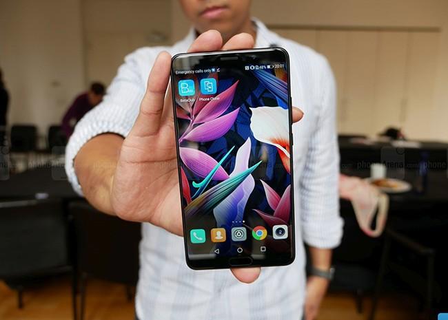 Huawei chính thức ra mắt 3 smartphone dòng Mate 10 ảnh 4