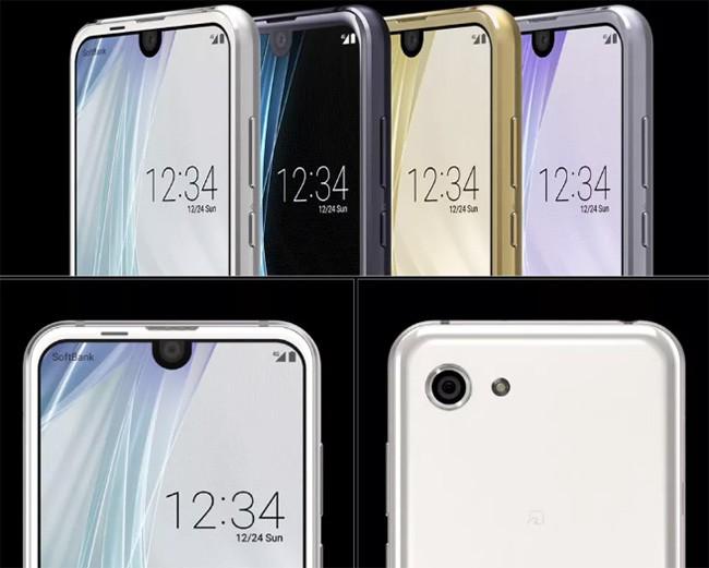 """Sharp ra mắt điện thoại """"đầu Essential Phone, đuôi Samsung"""" ảnh 1"""