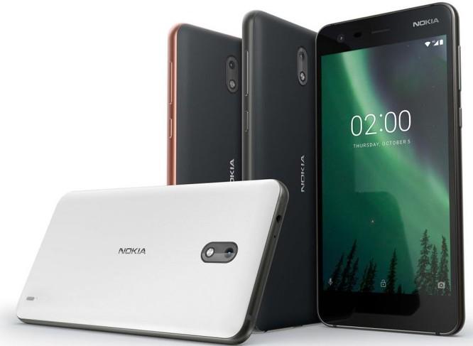 Nokia 2 chính thức ra mắt, pin 2 ngày, chống nước IP52 ảnh 1