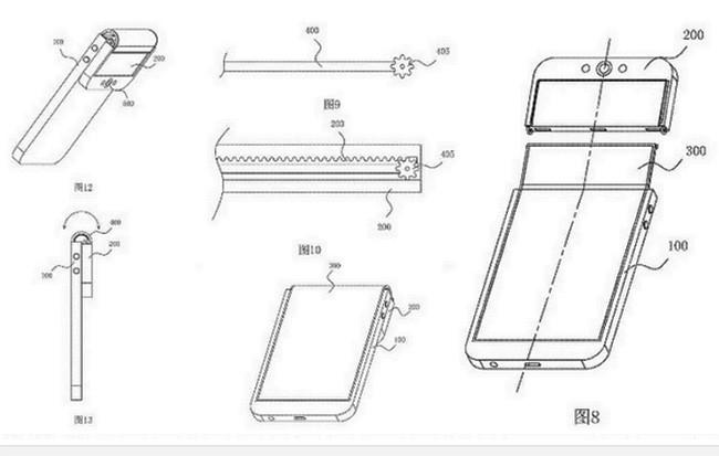 """Bằng sáng chế hé lộ mẫu điện thoại """"kỳ quái"""" của Oppo ảnh 1"""