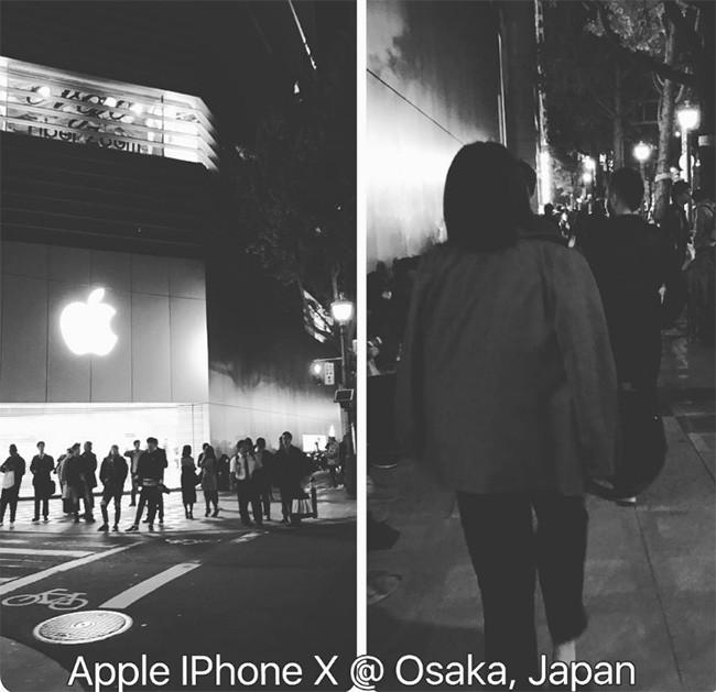 iPhone X: chen lấn xô đẩy ở Singapore, xếp hàng dài ở Úc, Nhật, Nga, Anh; nụ cười trở lại ảnh 7