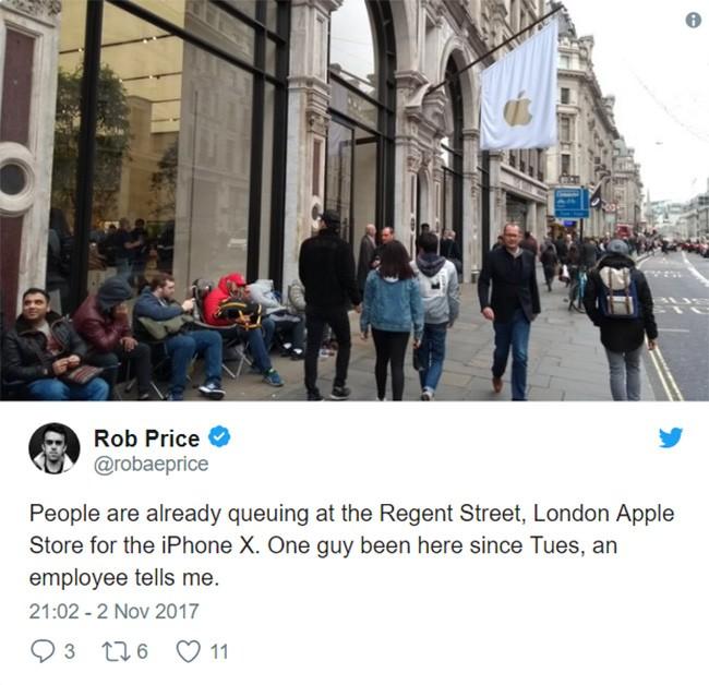 iPhone X: chen lấn xô đẩy ở Singapore, xếp hàng dài ở Úc, Nhật, Nga, Anh; nụ cười trở lại ảnh 9
