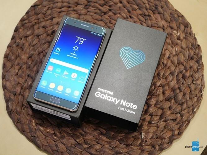 Galaxy Note FE (chính hãng) lên kệ ngày 25/11, giá từ 13.990.000 đồng ảnh 1