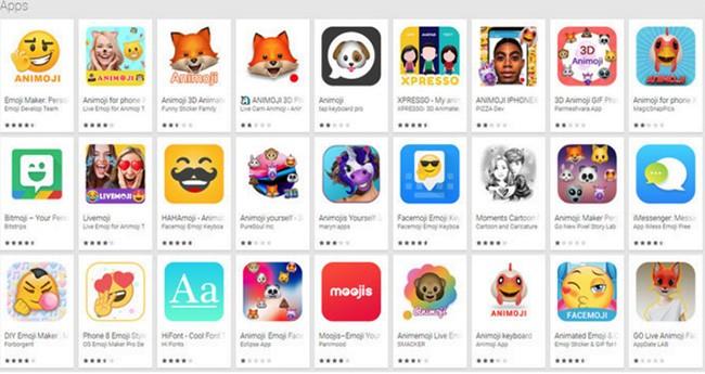 Có nên tải về ứng dụng Animoji cho Android giống iPhone X? ảnh 1