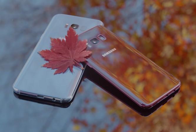 Galaxy S8 có thêm màu đỏ tía đẹp, độc, lạ ảnh 1