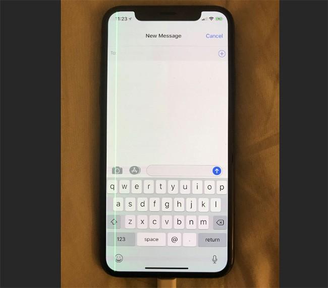 iPhone X dính lỗi sọc màn giống Galaxy S7 edge ảnh 3