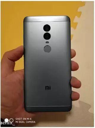 Xuất hiện thêm các hình ảnh chiếc Xiaomi Redmi Note 5 ảnh 1
