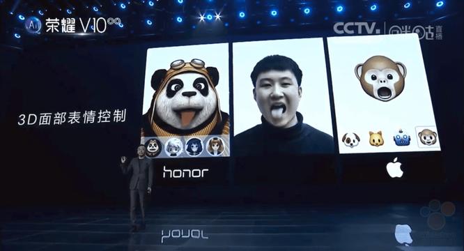 Kinh ngạc với Honor V10 vừa ra mắt: có Face ID, animoji còn đỉnh hơn iPhone X ảnh 4