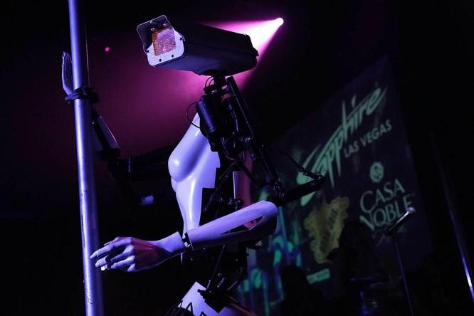 Xuất hiện Robot múa cột thoát y tại triển lãm CES 2018 ảnh 4