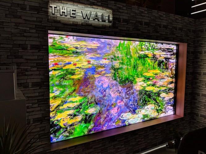 """Khám phá tivi """"Bức tường"""" rộng 146 inch của Samsung ảnh 1"""