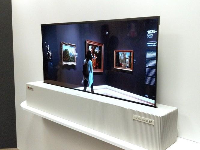 2 lợi ích mà tivi cuộn tròn của LG đem lại ảnh 2