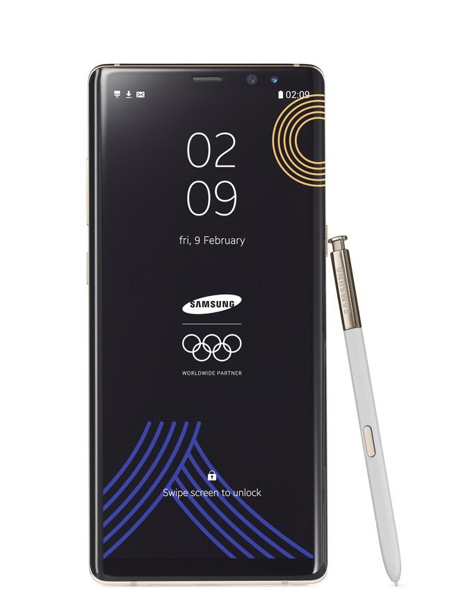 Samsung chào đón Olympic Mùa đông bằng phiên bản Galaxy Note 8 đặc biệt ảnh 1