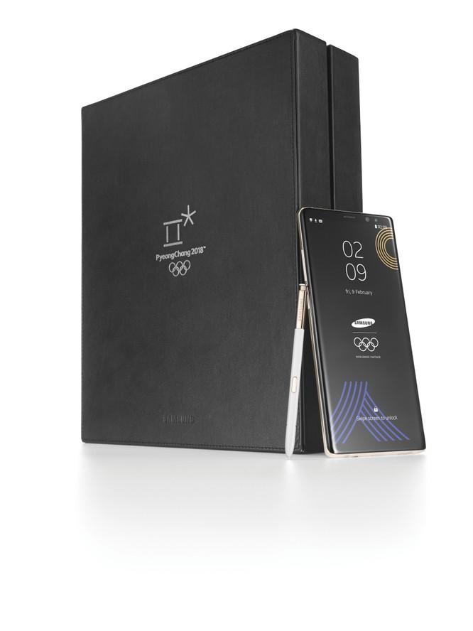 Samsung chào đón Olympic Mùa đông bằng phiên bản Galaxy Note 8 đặc biệt ảnh 3