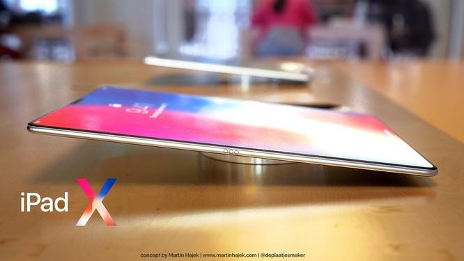 Lộ diện hình ảnh iPad X: tai thỏ, màn hình vô cực ảnh 2