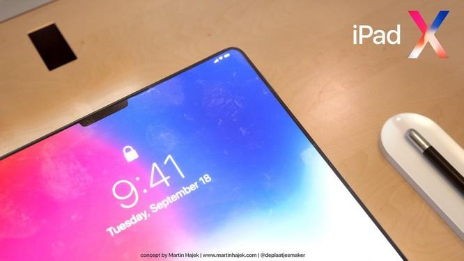 Lộ diện hình ảnh iPad X: tai thỏ, màn hình vô cực ảnh 3