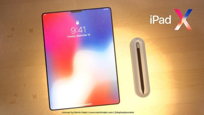 Lộ diện hình ảnh iPad X: tai thỏ, màn hình vô cực ảnh 5