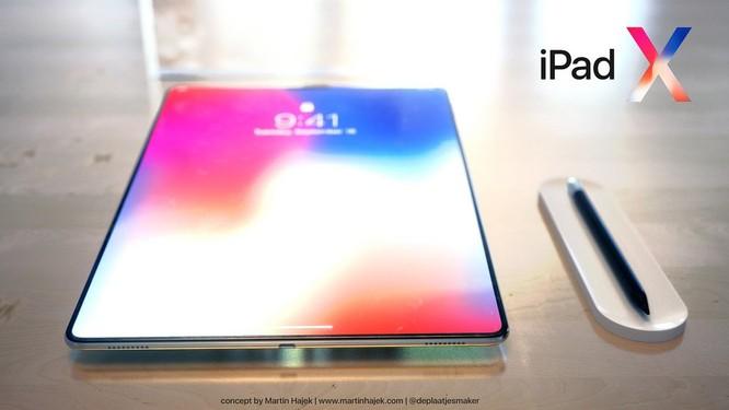 Lộ diện hình ảnh iPad X: tai thỏ, màn hình vô cực ảnh 7