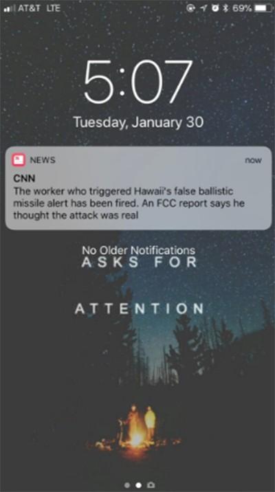 Lỗi kỳ cục khiến mẩu tin của CNN bị gửi tới người dùng iPhone tới 20 lần ảnh 1