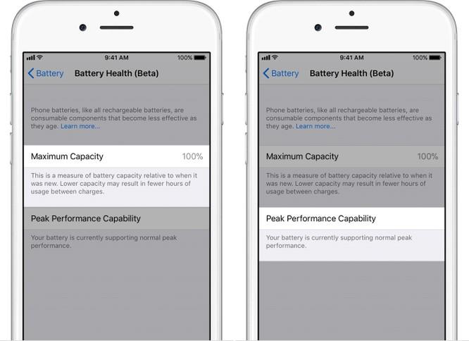 Cách kiểm tra pin chai và vô hiệu hóa tính năng giảm hiệu suất của iPhone ảnh 2